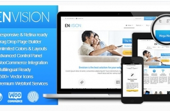Envision 2.9.0 — Отзывчивая Многоцелевая Тема