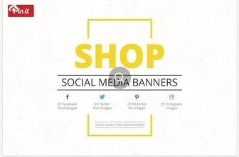Магазин — Баннеры Социальных Медиа