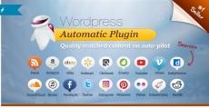 WordPress Automatic Plugin — Автограббинг-автопостинг