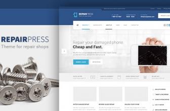 RepairPress — GSM, Телефонная Ремонтная мастерская WP
