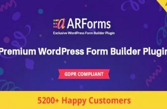 ARForms — Плагин Конструктора форм WordPress