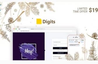 Digits : WordPress вход и регистрация через мобильный