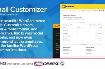 Email WooCommerce плагин Настройщик писем