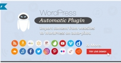 WordPress Automatic Plugin — Автограббинг-автопостинг