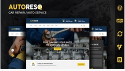 Autoresq — Авто Ремонт WordPress тема