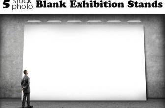 Photos, Blank Exhibition Stands — Набор для дизайна, скачать бесплатно