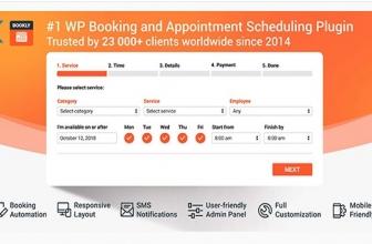 WordPress плагин Брони, Заказов и Планирования — Bookly