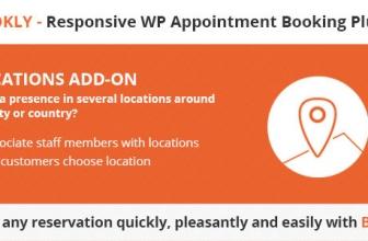 Bookly Locations (Add-on) — Местоположения для Bookly