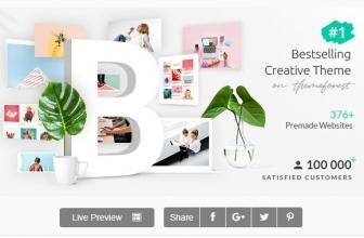 Bridge — Творческая Много-целевая WordPress тема