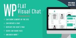 Визуальный Чат — плагин WP Flat Visual Chat