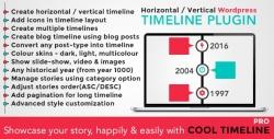 Сool Timeline Pro — WordPress Плагин Хронологий