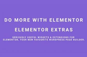 Elementor Extras — Сделайте больше с Elementor