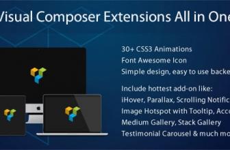 Visual Composer Расширения Всё в Одном — 3.4.9.6