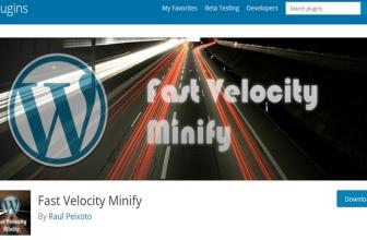 Fast Velocity Minify — плагин ускорения сайта