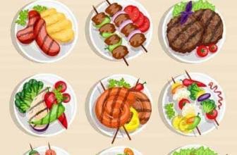 Вектор — набор различных блюд