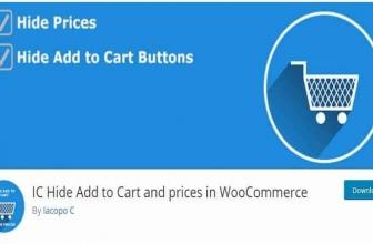 IC Hide Add to Cart and prices in WooCommerce — Скрыть кнопки Добавить в корзину и Цена