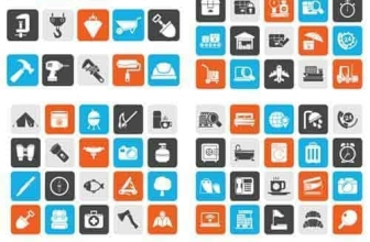 Вектор — 20 различных иконок Mix 1