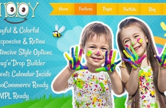 Kiddy — Тема WordPress для детей