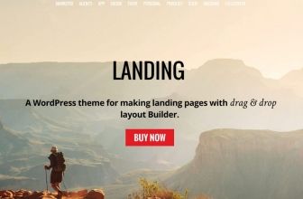 Themify — Landing — WordPress Тема для создания Лендингов