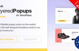 Всплывающее окно плагин для WordPress — Layered Popups v6.45