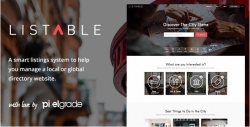 Listable — WordPress тема КАТАЛОГА
