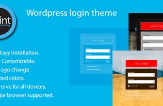 WordPress Логин тема — своя форма входа в wordpress