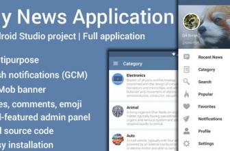 Моб приложение для новостного ресурса — Мои Новости