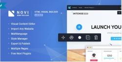 Novi — HTML Page Builder & Visual Content Editor