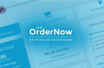PHP Скрипт — OrderNow