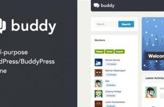 Buddy: многоцелевая Тема Сообщества WordPress/BuddyPress