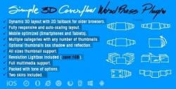 Simple 3D Coverflow WordPress Plugin — плагин слайдера с великолепными переходами