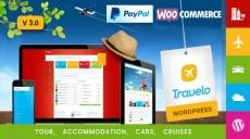 Travelo — Поездки/Бронирование Тура WordPress Тема