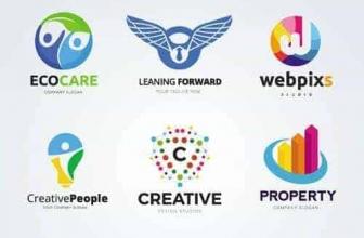 Вектор — Абстрактные Бизнес Логотипы 43