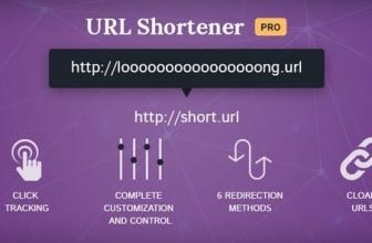 URL Shortener Pro — WP Плагин Укорачиватель ссылок