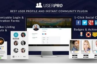 UserPro — Профили пользователей с Социальным Входом в систему