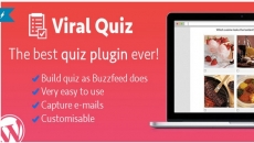 WordPress Viral Quiz – Конструктор Викторины BuzzFeed
