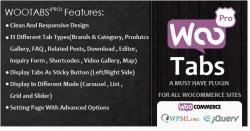 Woocommerce Tabs Pro — Дополнительные Вкладки на странице товара