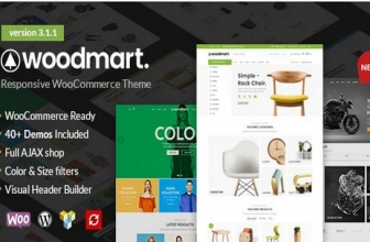 WoodMart — WooCommerce WordPress Тема