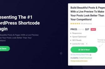 WP Shortcode Pro by MyThemeShop — Плагин богатый шорткодами