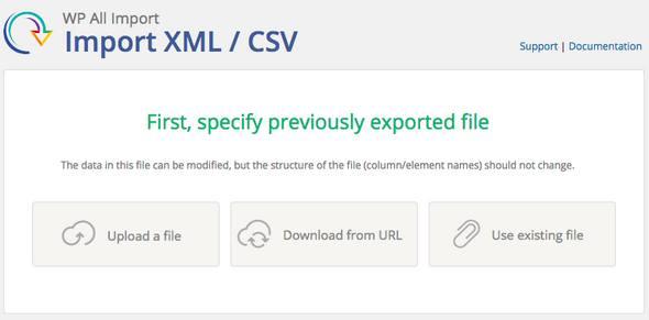 WP All Import Elite + Export Lifetime плагин импорта всех настроек и документов сайта wordpress + плагин Экспорта