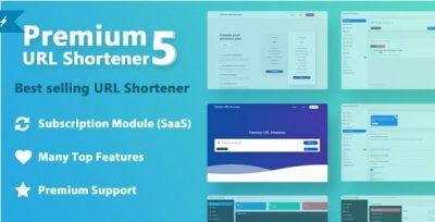 Premium URL Shortener + тема simplex-green