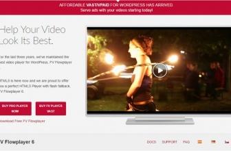 FV Flowplayer Pro — плагин видео плеера
