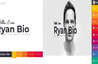 Bio v1.0 — HTML Шаблон портфолио и резюме
