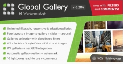 Global Gallery — wp плагин галереи