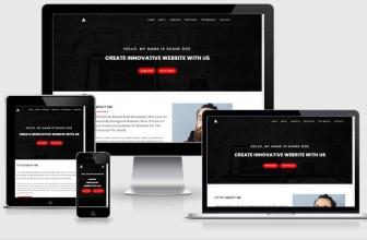 Codester — Alo v1.0 — персональное портфолио HTML шаблон