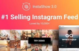 Instagram Feed — WordPress Галерея для Instagram