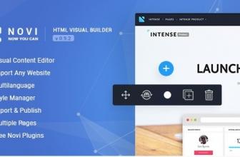 Novi — HTML Конструктор Сайтов + Админка для ваших HTML Лендингов