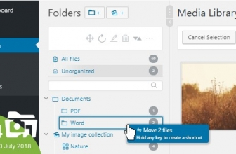 WordPress Real Media Library — Менеджер папок и файлов медиа библиотеки wordpress